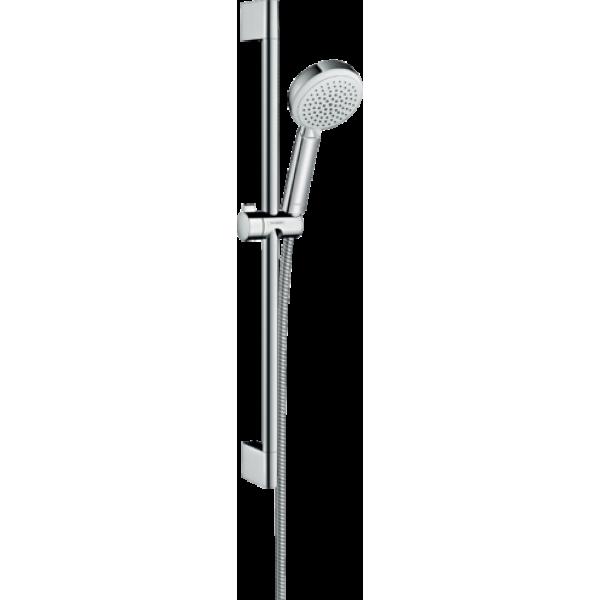 26651400 – Crometta 100 Shower Set Vario with Shower Bar, 0.65m