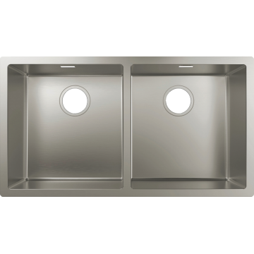 43435809 - Under-mount sink 305/435, Stainless Sttel