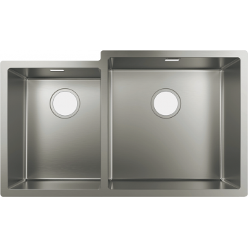 43428809 - Under-mount sink 660, Stainless Sttel