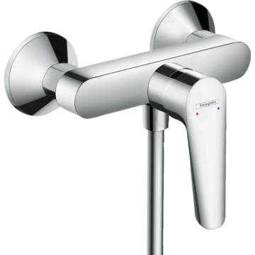 71602009 – Logis E Single Lever Shower Mixer for Exposed Installation