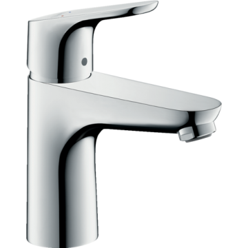 31607009 – Focus Single Lever Basin Mixer 100 Bathroom Accessories